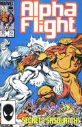 Alpha Flight (1983 1st Series) Mark Jewelers 23MJ
