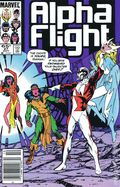 Alpha Flight (1983 1st Series) Mark Jewelers 27MJ
