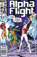 Alpha Flight (1983 1st Series) Mark Jewelers 27MJ