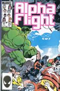 Alpha Flight (1983 1st Series) Mark Jewelers 29MJ