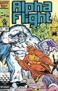 Alpha Flight (1983 1st Series) Mark Jewelers 38MJ