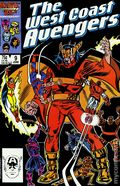 Avengers West Coast (1985) Mark Jewelers 9MJ