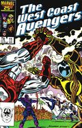 Avengers West Coast (1985) Mark Jewelers 11MJ