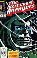Avengers West Coast (1985) Mark Jewelers 35MJ