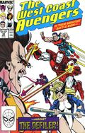 Avengers West Coast (1985) Mark Jewelers 38MJ