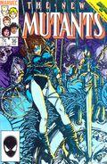 New Mutants (1983 1st Series) Mark Jewelers 36MJ