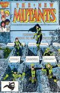 New Mutants (1983 1st Series) Mark Jewelers 38MJ