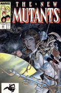 New Mutants (1983 1st Series) Mark Jewelers 63MJ