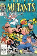 New Mutants (1983 1st Series) Mark Jewelers 65MJ