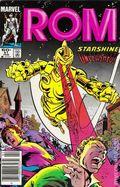Rom (1979-1986 Marvel) Mark Jewelers 51MJ