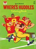 Where's Huddles? Coloring Book SC (1971 Whitman) Hanna-Barbara's 1089-1ST