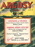Argosy Part 4: Argosy Weekly (1929-1943 William T. Dewart) Jan 11 1941