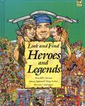 Look and Find Heroes and Legends HC (1992) 1-1ST