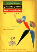 Magazine of Fantasy and Science Fiction (1949-Present Mercury Publications) Vol. 8 #6