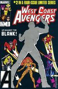 West Coast Avengers (1984 Limited Series) 2