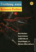 Magazine of Fantasy and Science Fiction (1949-Present Mercury Publications) Pulp Vol. 30 #5