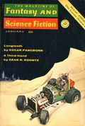 Fantasy and Science Fiction (1949-Present Mercury Publications) Pulp Vol. 38 #1