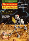 Fantasy and Science Fiction (1949-Present Mercury Publications) Pulp Vol. 13 #1