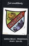 Problematic: Sketchbook Drawings 2004-2012 HC (2013 Fantagraphics) by Jim Woodring 1-1ST