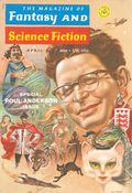 Fantasy and Science Fiction (1949-Present Mercury Publications) Pulp Vol. 40 #4