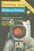 Fantasy and Science Fiction (1949-Present Mercury Publications) Pulp Vol. 40 #5