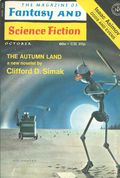 Fantasy and Science Fiction (1949-Present Mercury Publications) Pulp Vol. 41 #4
