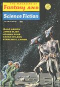Fantasy and Science Fiction (1949-Present Mercury Publications) Pulp Vol. 38 #2
