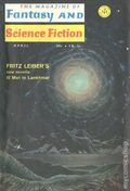 Fantasy and Science Fiction (1949-Present Mercury Publications) Pulp Vol. 38 #4