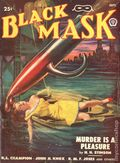 Black Mask (1920-1951 Pro-Distributors/Popular) Black Mask Detective Pulp Sep 1948