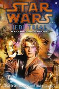 Star Wars Jedi Trial HC (2004 A Clone Wars Novel) 1B-1ST