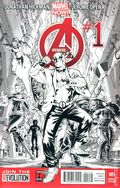 Avengers (2013 5th Series) 1E.B&W