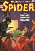 Spider (1933-1943 Popular Publications) Pulp Vol. 11 #1