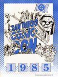 San Diego Comic Convention Program SC (1970-1996 Comic Con International) 1985-1ST