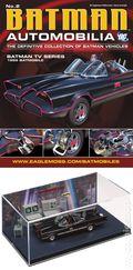 Batman Automobilia: The Definitive Collection of Batman Vehicles (2013- Eaglemoss) Figurine and Magazine #02