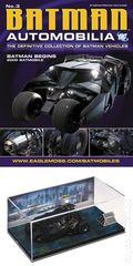 Batman Automobilia: The Definitive Collection of Batman Vehicles (2013- Eaglemoss) Figurine and Magazine #03
