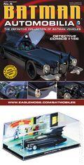 Batman Automobilia: The Definitive Collection of Batman Vehicles (2013- Eaglemoss) Figurine and Magazine #06