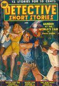 Detective Short Stories (1937-1947 Manvis Publications) Pulp Vol. 2 #3