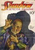Shadow (1931-1949 Street & Smith) Pulp Apr 1931