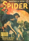Spider (1933-1943 Popular Publications) Pulp Oct 1940