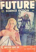 Future Science Fiction (1952-1960 Columbia Publications) Pulp Vol. 4 #5