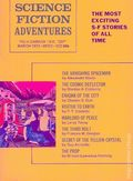 Science Fiction Adventures (1973-1974 Ultimate) Pulp 23