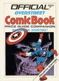 Official Overstreet Comic Book Price Guide Companion SC (1990) 4th Edition 1-1ST