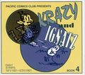Krazy and Ignatz Daily Strips TPB (2003 Pacific Comics Club Edition) 4-1ST