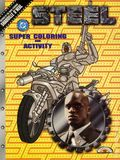 Steel Super Coloring and Activity Book SC (1997 Landoll's) 1B-1ST