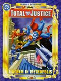 Total Justice Coloring and Activity Book SC (1997 Landoll's) 2-1ST