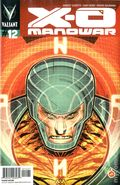 X-O Manowar (2012 3rd Series Valiant) 12B