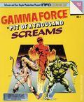 Gamma Force in Pit of a Thousand Screams InfoComics (1988) 1-1ST