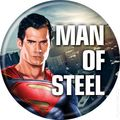 Man of Steel Buttons (2013 Ata-Boy) #82504