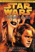 Star Wars Labyrinth of Evil HC (2005 A Del Rey Novel) 1B-1ST