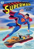 Superman Sticker Book SC (1977 A Whitman Book) 1-1ST